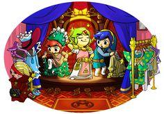 Costumes Art fom the official artwork set for the Tri Force Heroes #TFH #TLoZ #Zelda http://www.zelda-temple.net/