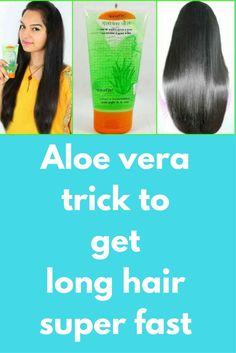 Aloe vera trick to get long hair super fast There are many natural ways to boost your hair growth and among all of them one is aloe vera gel. Today in this post I will share how can you use this ingredient to boost your hair growth. Aloe vera is one ingredient that is equally good for your scalp and hair. When applied on …