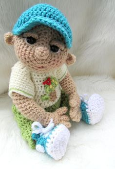 crocheted dolls free patterns | So Cute Baby Doll ... by Crews | Crocheting Pattern