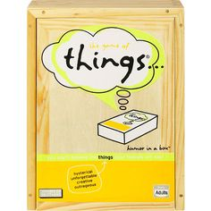 Game of Things.never laughed so hard playing this with girlfriends Couples Game Night, Night Couple, Family Night, Toys R Us Games, Games To Play, 13 Game, Couple Games, Couple Ideas, Valentines Day Couple