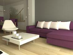 Ikea's Kivik sofa with chaise longue, Tirup swivel armchair and Tofteryd coffee table.