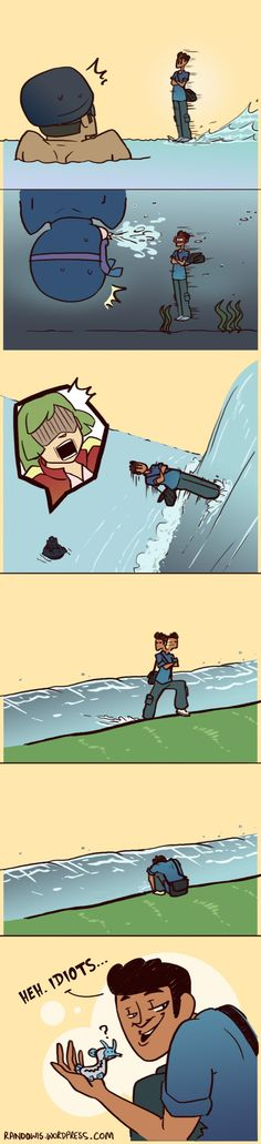 RandoWis :: Travelling on Water | Tapastic Comics