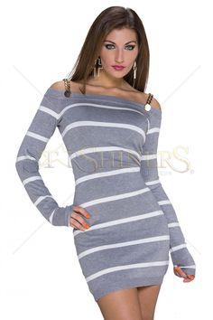 Wonderful Essence Grey Dress