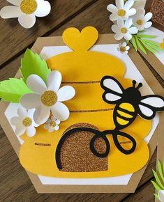 Custom order , bee first birthday banner , happy birthday banner – Basteln Summer Crafts, Diy And Crafts, Crafts For Kids, Paper Crafts, Bug Crafts, Bumble Bee Birthday, First Birthday Banners, Farm Birthday, Birthday Parties