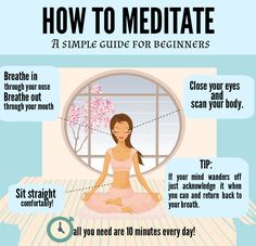 How to meditate: a simple guide for beginners