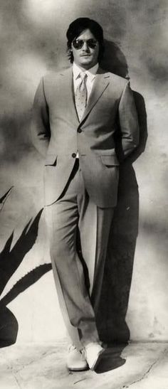 Norman reedus · Suit n tie... or as He calls it... Monkey suit
