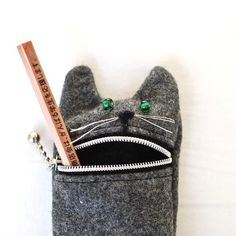 Pencil bag from Tokyo Inspired on Etsy.