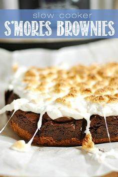 s'mores brownies so yummy! ohsweetbasil