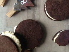 Gluten-Free & Vegan Peppermint Oreos from She Let Them Eat Cake