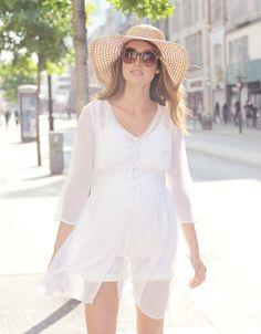2690b64b096 Ivory Maternity Kaftan #SeraphineMaternity #Summer2018 #Maternityswimwear  #Summerfashion Summer Maternity Fashion, Boho. Seraphine
