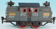 Doll Locomotive NYCHRR 20 volt railcar A1
