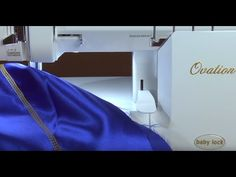 Need help changing your Baby Lock Ovation from overlock stitching to chain stitching? Watch this video! Then, take the entire free online class to learn all about the Ovation! - YouTube