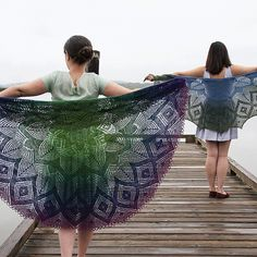 Mistral by AnneLena Mattison - lace half-circle #shawl to knit - pattern from Skein Theory vol. 1