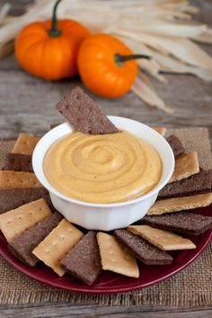 Pumpkin Pie Dip This recipe from Cooking Classy is super easy and only requires one mixing bowl (phew!). Plus, it's an ideal group snack, perfect for the kids' giggle-filled sleepovers or family movie nights as it brings everyone around the bowl for a delicious dip.