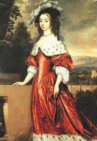 Henriette Catherine of Nassau (1637 - 1708). Daughter of Frederick Henry and Amalia of Solms-Braunfels. She married John George II, Prince of Anhalt-Dessau and had ten children.