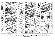 Immubles Villas 1922, le Corbusier