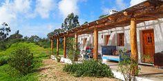 Er zijn weinig plekken in Europa waar je in de zomer lekkerder zit dan in de Algarve. Volop zon, prachtige stranden en amper drie uur vliegen. Ga bijvoorbeeld een weekje naar Muxima, het huis van Jorge en Sofia, middenin een eucalyptusbos, vlakbij een paar van de mooiste stranden van Portugal. Het huis ligt vlakbij het plaatsje Aljezur, ongeveer een uur rijden van vliegveld Faro.