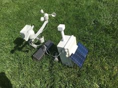 Building a Solar Powered Raspberry Pi Weather Station - GroveWeatherPi (Updated March - See Update In Next SectionSoftware and Hardware Update March Diy Electronics, Electronics Projects, Computer Projects, Lightning Detector, Landscaping Las Vegas, Solar Panel Cost, Raspberry Pi Projects, Solar Water Heater, Solar Energy System