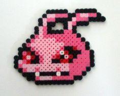 Koromon Digimon perler beads by mancy157