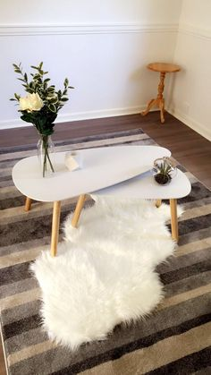 $39 coffee table - white, set of 2 | kmart | holiday house
