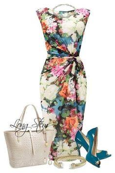 Стильные образы для любительниц платьев.