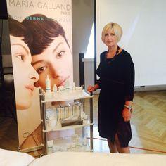 Presentasjon av produkter Maria Galland i Riga