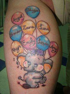 Grandchildren Tattoos | Tattoo ideas to represent multiple grandchildren? - Yahoo! UK ...