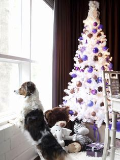 Bright & White - Artificial Christmas Trees Better Than the Real Thing on HGTV