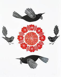 Kura Paru Circles by Annie Smits Sandano