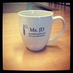 Love my Ms. JD Mug!  Perfect for my morning cup of joe!