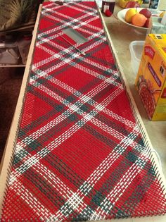 12 X 48 continuous strand weaving rectangle--table runner