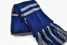 Harry Potter house scarves//Gryffindor Ravenclaw by CraftyyAllie