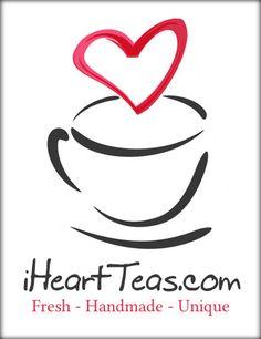 Love @rachelcarter's aka IheartTeas' tea company logo. You can sign up for her tea newsletters here: http://iheartteas.com