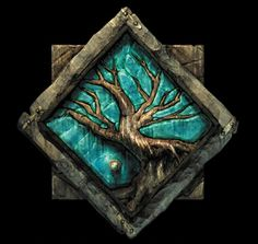 Icewind Dale Logo Kuldahar Dungeons and Dragons Forgotten Realms
