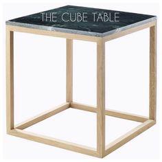 THE CUBE TABLE från Kristina Dam Studio. Instagram photo by @inwi_ab via ink361.com