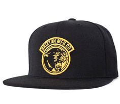Growler Snap Back Hat by Brixton- BLACK Gorra New Era a5ce0ad4796