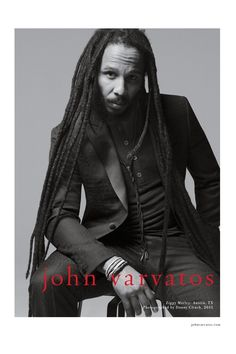 John Varvatos shines to the spotlight on reggae icons Ziggy and Stephen Marley for the new Spring/Summer 2015 campaign. Shot in Austin, Texas by photographer Danny Clinch, the black and white image… Gemma Ward, Daria Werbowy, John Varvatos, Marley Brothers, Stephen Marley, Marley Family, Reggae Style, Reggae Artists, What Makes A Man