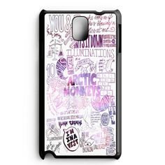 Arctic Monkeys Do I Wanna Know Black And Blue Samsung Galaxy Note 3 Case
