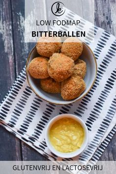 Low FODMAP and gluten-free Dutch bitterballen or beef croquettes. A delicious low FODMAP party snack! Also lactose-free Fodmap Recipes, Gluten Free Recipes, Beef Ragout, Gluten Free Bread Crumbs, Healthy Meals For Kids, Lactose Free, Snacks, Food And Drink, Nye