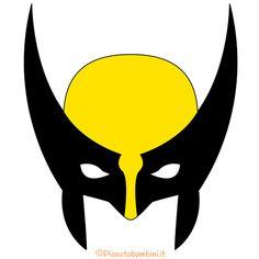 Maschera di Wolverine