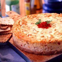 Oh my! I hope it's like Ruffinos' crawfish cheesecake appetizer! YUM!