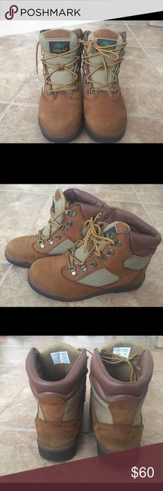 Timberland boots Chicken n gravy tims high top good condition please use offer button for all negotiations thanks Timberland Shoes Combat & Moto Boots