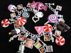 Willy Wonka charm bracelet.