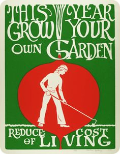This year grow your own Garden.