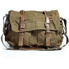 BELSTAFF Military Green Large Shoulder Bag 554 ($301) ❤ liked on Polyvore featuring bags, handbags, shoulder bags, accessories, purses, сумки, shoulder handbags, leather hand bags, man shoulder bag and hand bags