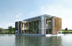 Self Sufficient Floating House | Kraaijvanger