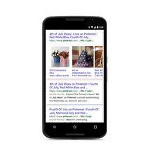 Google Search Mobile intègre des images issues de Pinterest et Vine