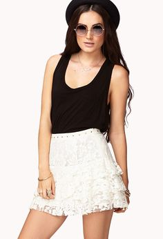 #Forever21                #Skirt                    #Darling #Floral #Lace #Skirt #FOREVER21 #2062035317                          Darling Floral Lace Skirt | FOREVER21 - 2062035317                            http://www.seapai.com/product.aspx?PID=56133