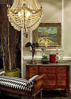 Love the harlequin pattern.... Splendid Sass.Bella Donna
