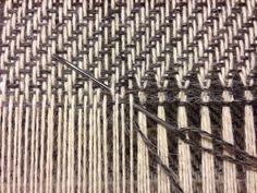An interesting hemstitch Weaving Loom Diy, Tablet Weaving, Hand Weaving, Swedish Weaving Patterns, Loom Patterns, Stitch Patterns, Knitting Patterns, Perler Beads, Weaving Projects